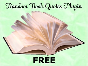Random Book Quotes Plugin - FREE Version