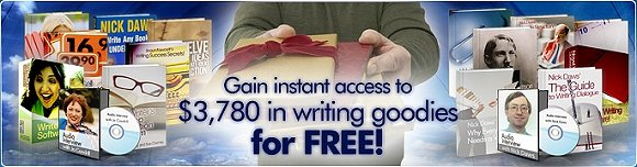 Click here to get $3,780 in writing goodies - for FREE!